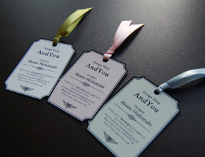 タグ型名刺 ギフトタグ 値札 プレゼントタグ