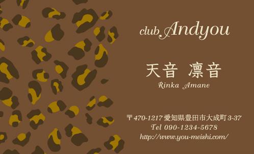 キャバクラ キャバ嬢 キャバ 名刺デザイン hostesses-067