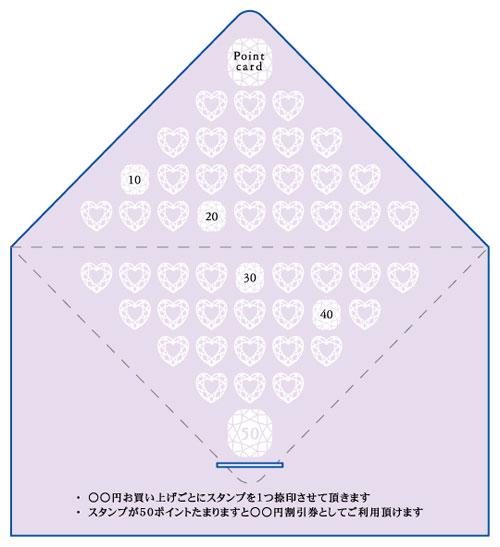 レター型 二つ折り 名刺デザイン AI-LE-008