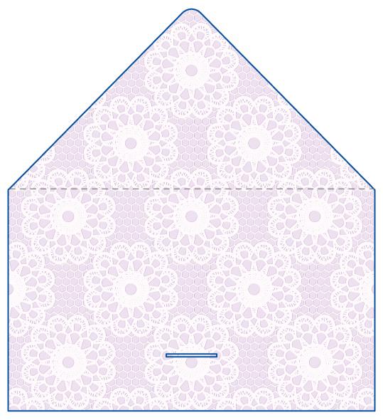 レター型 二つ折り 名刺デザイン AY-LE-028